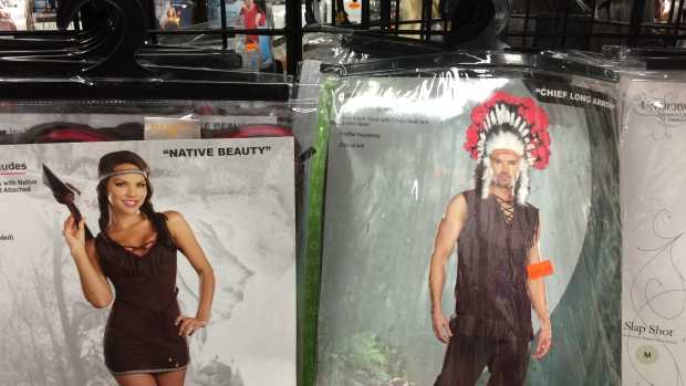 Stores urged to stop stocking 'Indian' Halloween costumes