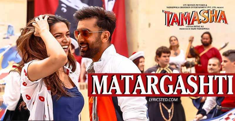 Matargashti HD Video Song with lyrics