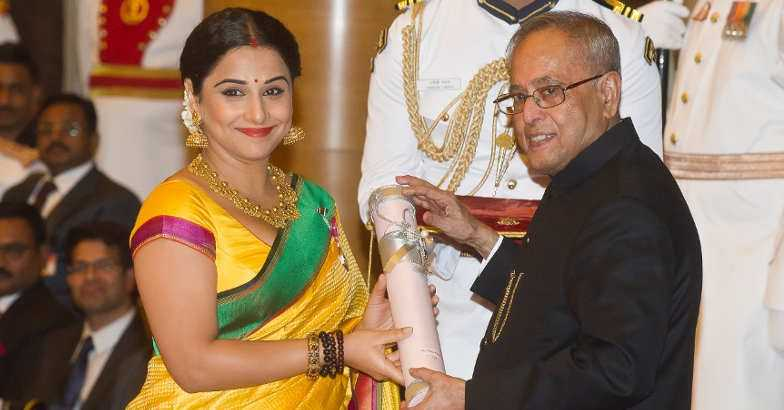 Vidya Balan says she will not return her National Award