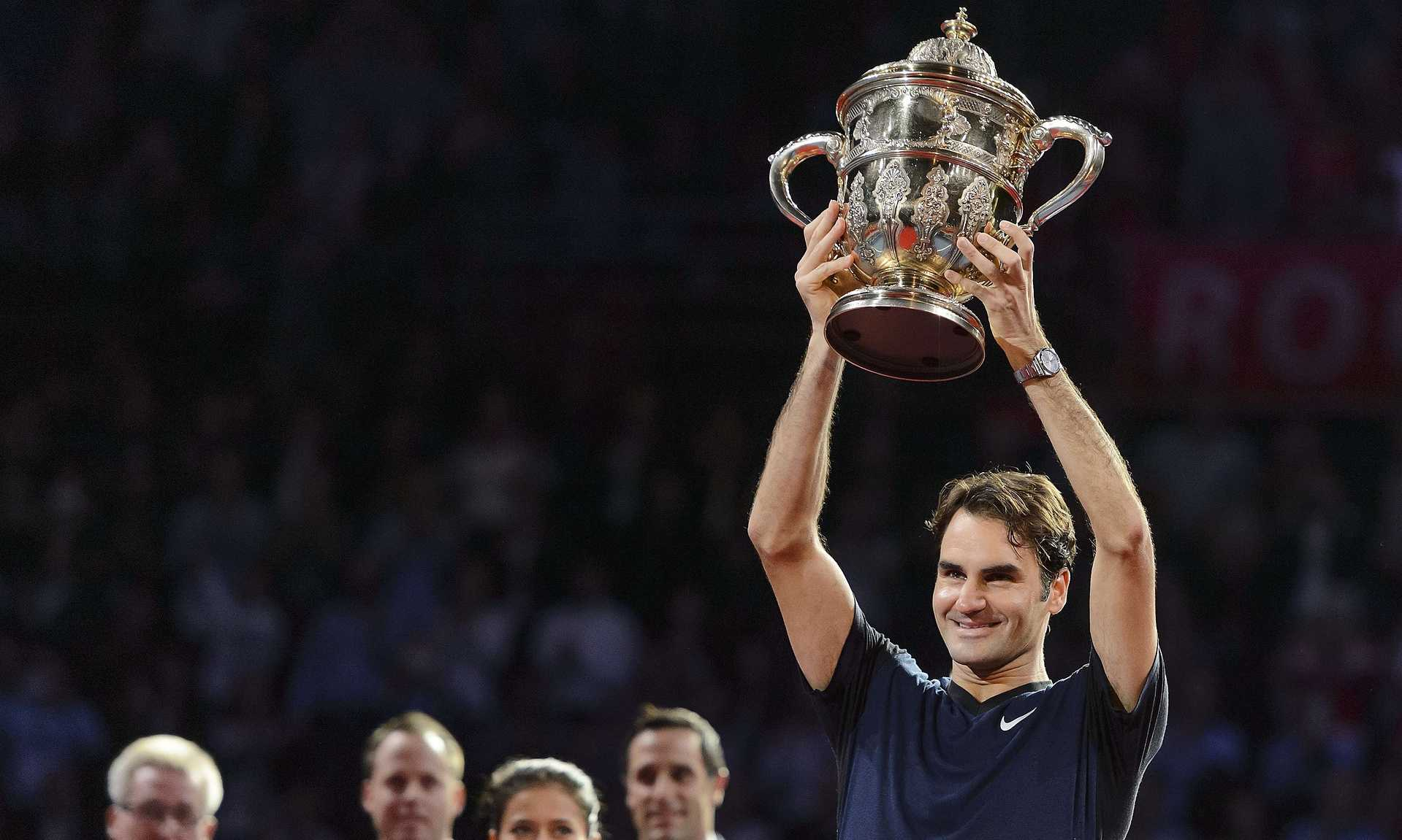 Roger Federer: Tennis Player Defeats Rafael Nadal in Swiss Indoors Basel Final to Win 6th Title of 2015