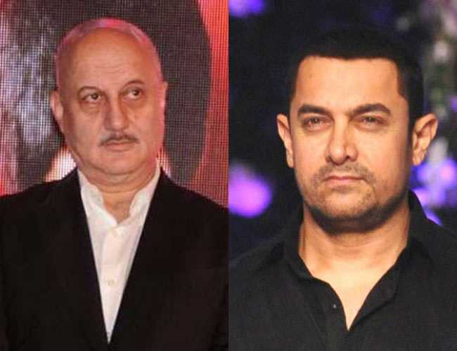 Anupam Kher: Actor Responds on Social Media to Aamir Khan's Intolerance Comments