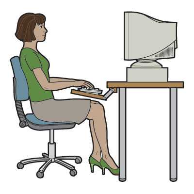 Backpain during working, get rid of it with simple steps