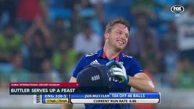 Buttler blitz seals series win for England