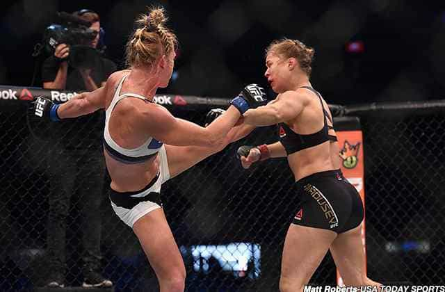 Holly Holm: UFC Fighter Defeats Ronda Rousey by Knockout in 2nd Round of UFC 193 Main Event