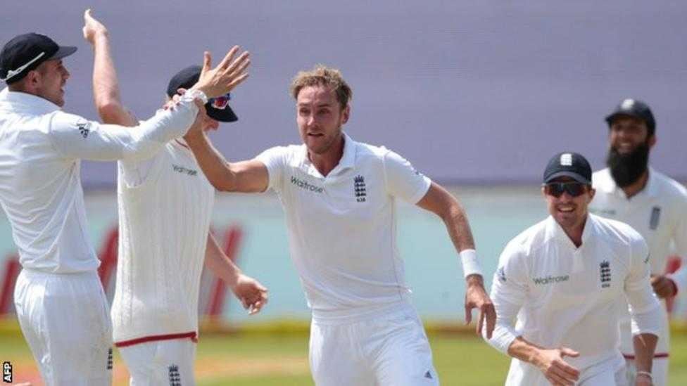 England vs. South Africa: Stuart Broad Takes 3 Wickets to Give England Edge on Day 2 of 1st Test