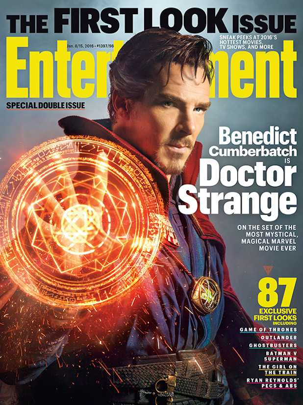 Benedict Cumberbatch: 1st Look of Actor as Doctor Strange Featured on Entertainment Weekly Cover
