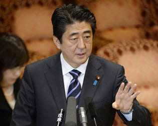 Abe Warns Officials against Controversial Comments on Wartime Sex Slavery