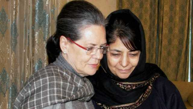 Jammu and Kashmir: Trouble in paradise? Sonia visits Mehbooba Mufti