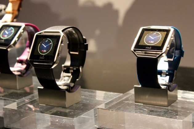 Fitbit: Technology Company Introduces New Fitness Watch Called Blaze at CES