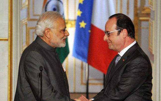 We are honoured, delighted: PM Modi welcomes French President Hollande