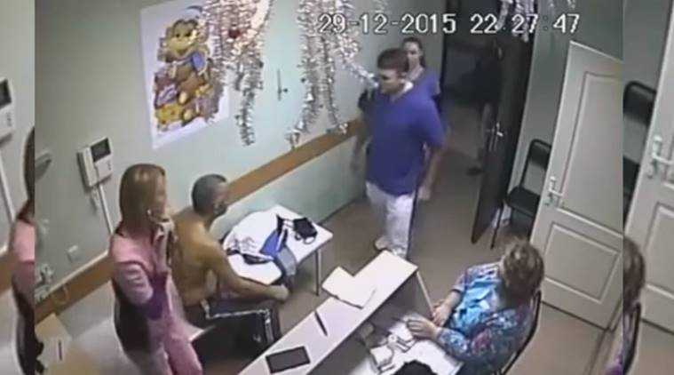 Video of Russian physician hitting patient, who dies, goes viral