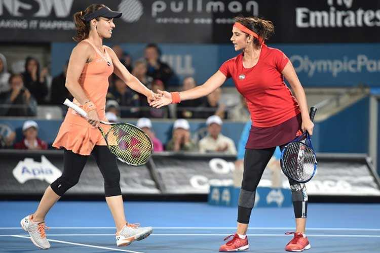 Double delight for Sania Mirza at Australian Open