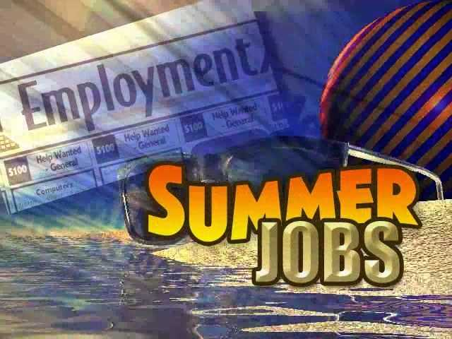 Student summer jobs to be grabbed