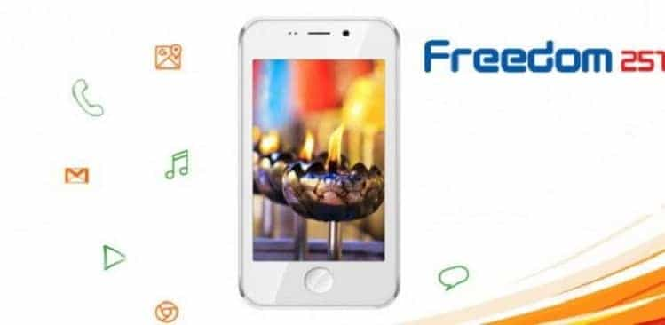 India manufactured Freedom 251 smartphone: The first look says it all