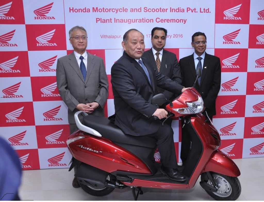 Honda's 4th 2- wheeler manufacturing plant to create jobs 9,000 in Gujarat