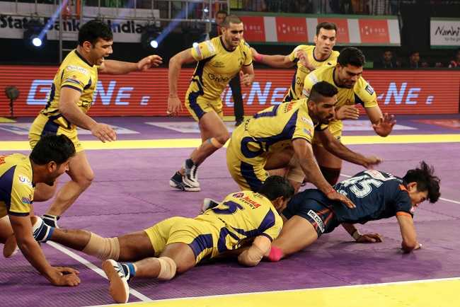 Hodage fashion and Jang-Kun Lee Bengal Warriors win over Telugu Titans