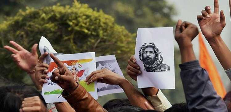 JNU's Afzal Guru issue had the backing of Hafiz Saeed, Rajnath Singh says