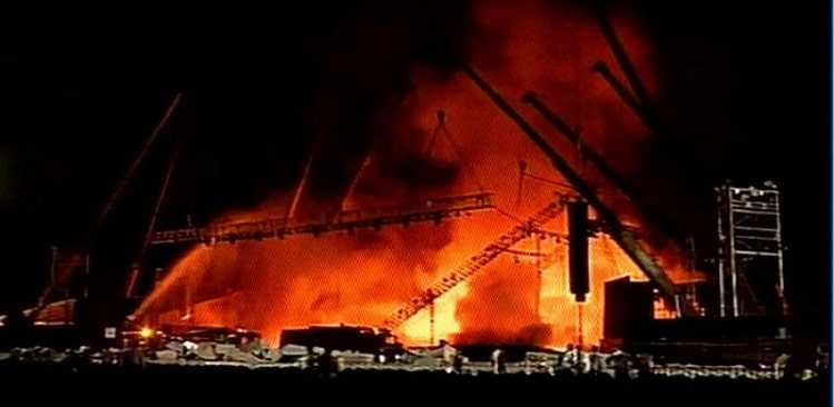 """Fire broke out at """"Make in India"""" event - no casualties so far"""