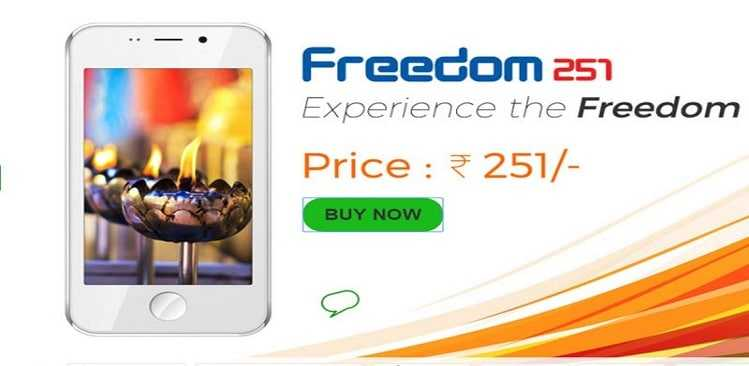 Freedom 251 website down, company says will be back in 24 hours