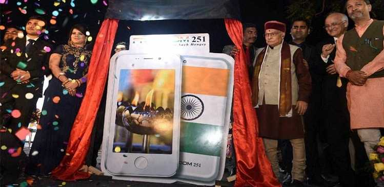 Noida's Ringing Bells Freedom 251 actual price Rs 2500