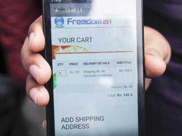 BJP MP calls Freedom 251 bogus scam