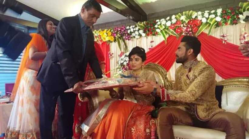 Ravindra Jadeja gets engaged to Rajkot-based Reeva Solanki
