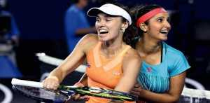 Sania Mirza-Martina Hingis marked 40th win on the trot, lift St. Petersburg Ladies Trophy