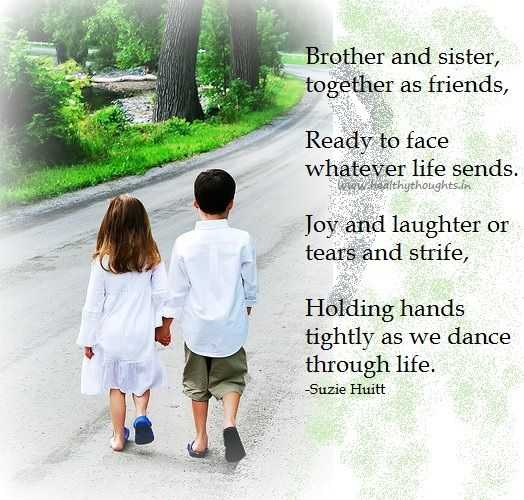 Birthday Quotes For Younger Brother From Sister: Happy Birthday Wishes For Brother And Sister