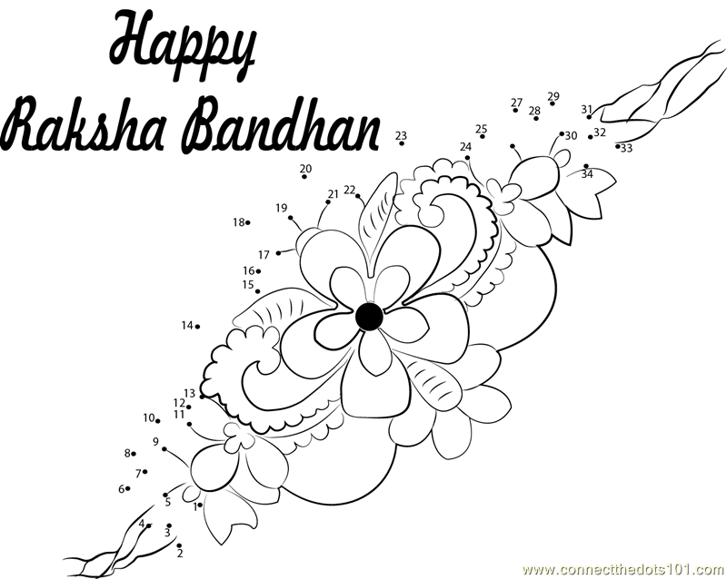 raksha bandhan pictures for colouring