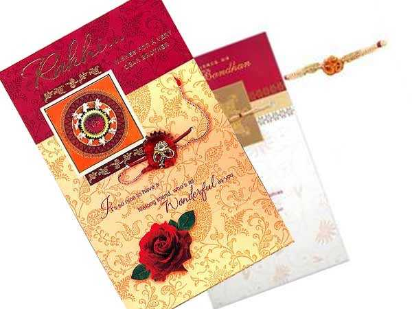 Handmade Rakhi Greeting Cards
