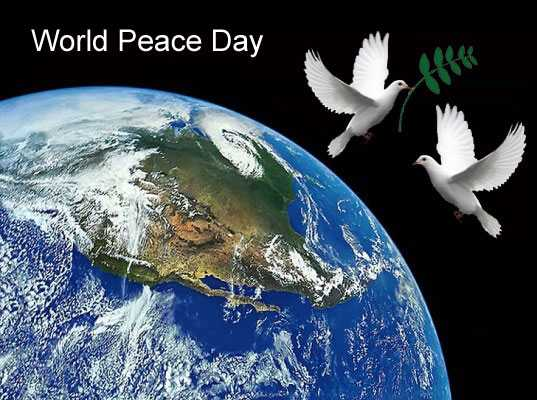 national world peace day