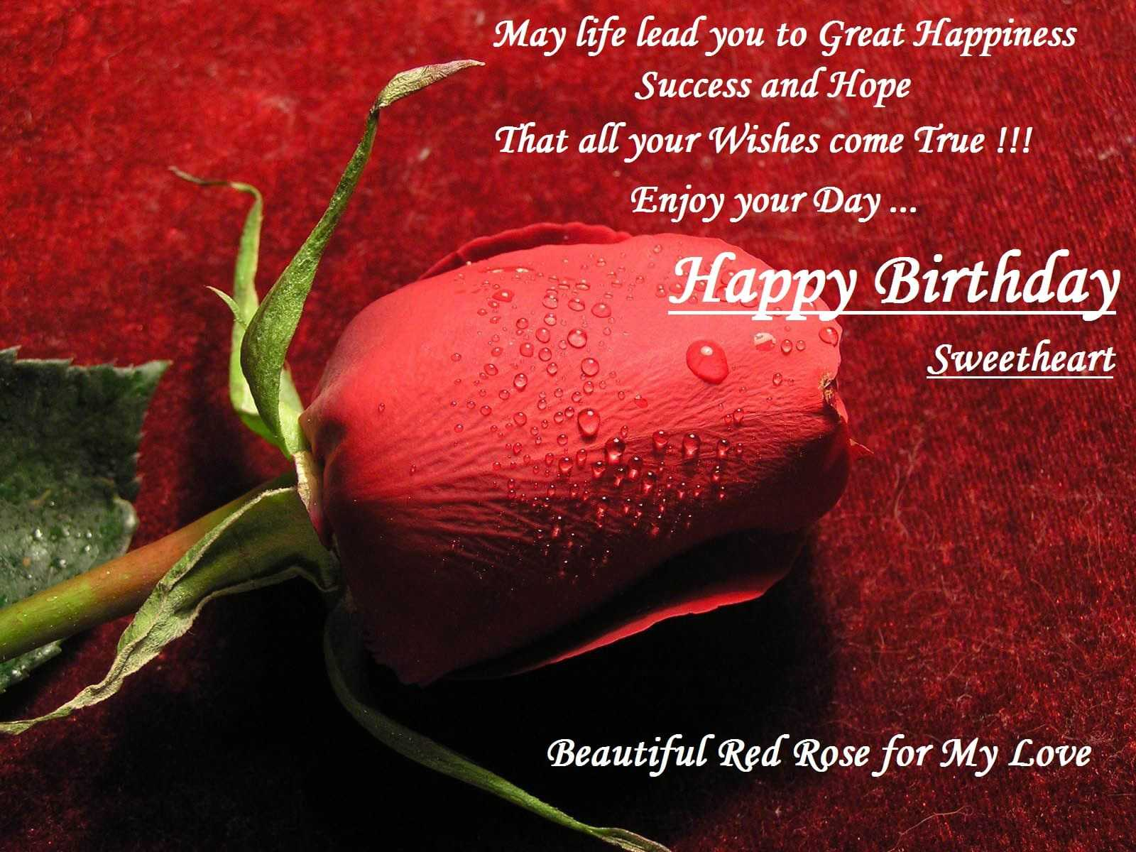 Birthday Greetings For Wife Abroad From Husband In English Free