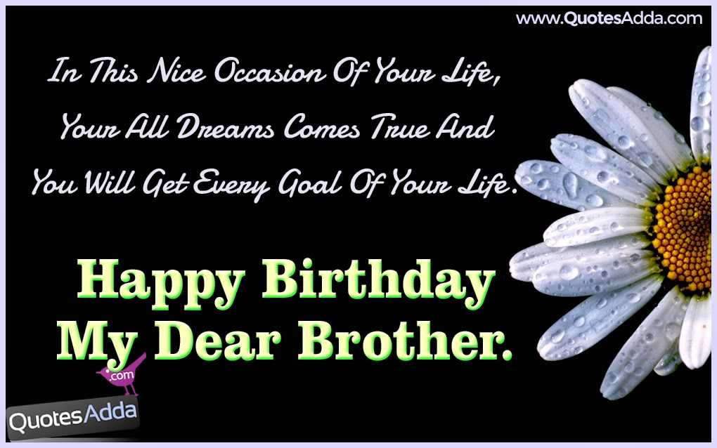 Birthday Whatsapp Status For Brother In Hindi