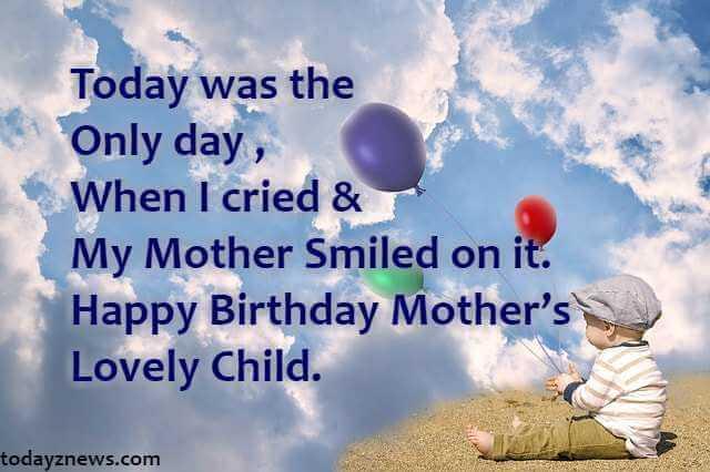 Fantastic Happy Birthday To Me Status Quotes Dp For Whatsapp Hindi Todayz News Personalised Birthday Cards Bromeletsinfo