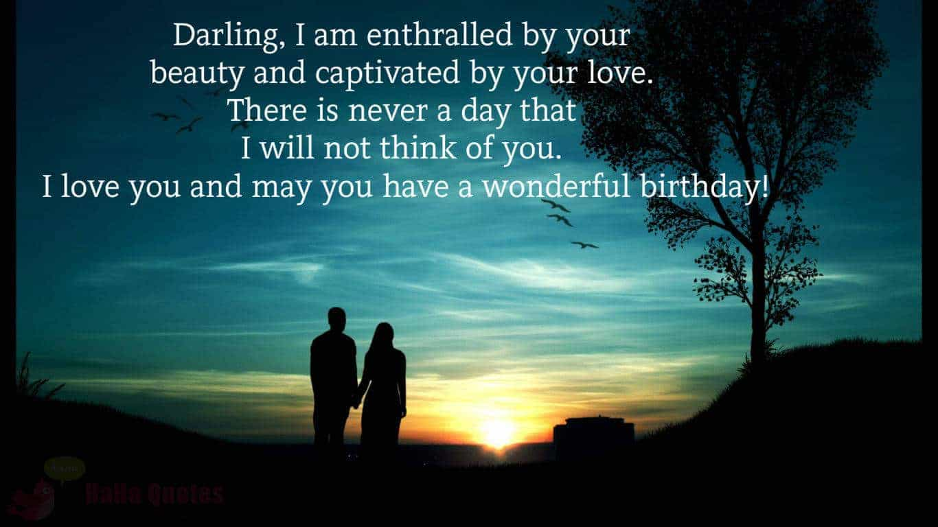 Romantic Birthday Sms For A Lover
