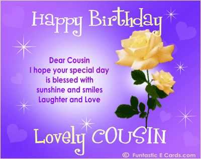 short happy birthday quotes for a cousin