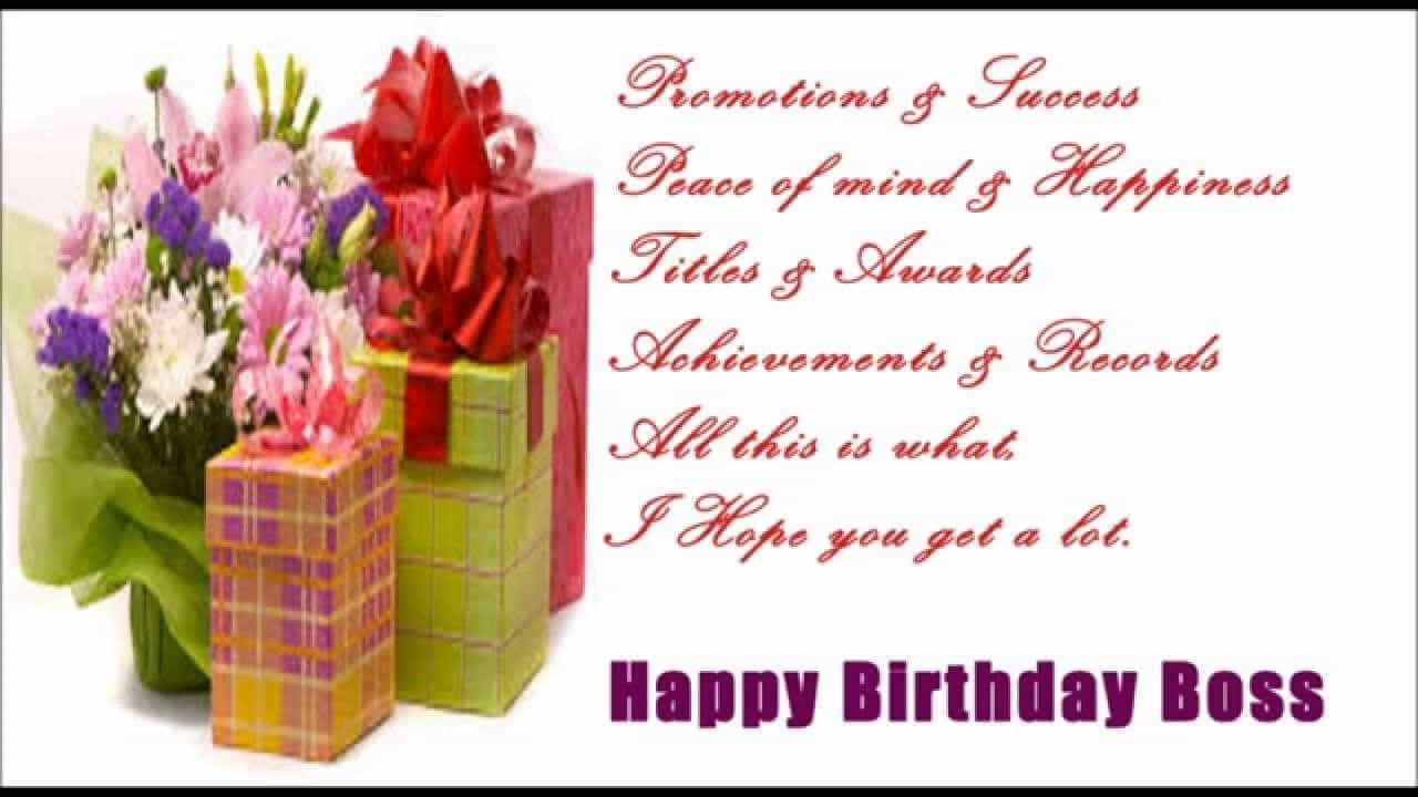 Happy birthday text messages sms to lady boss in english todayz news happy birthday text messages to my boss m4hsunfo