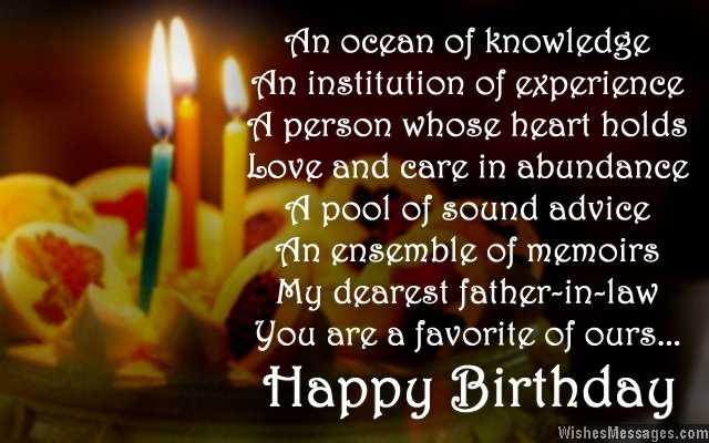 Happy birthday wishes greetings messages for father in law todayz news happy birthday wishes for father in law m4hsunfo