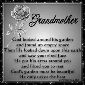 happy birthday grandma passed away