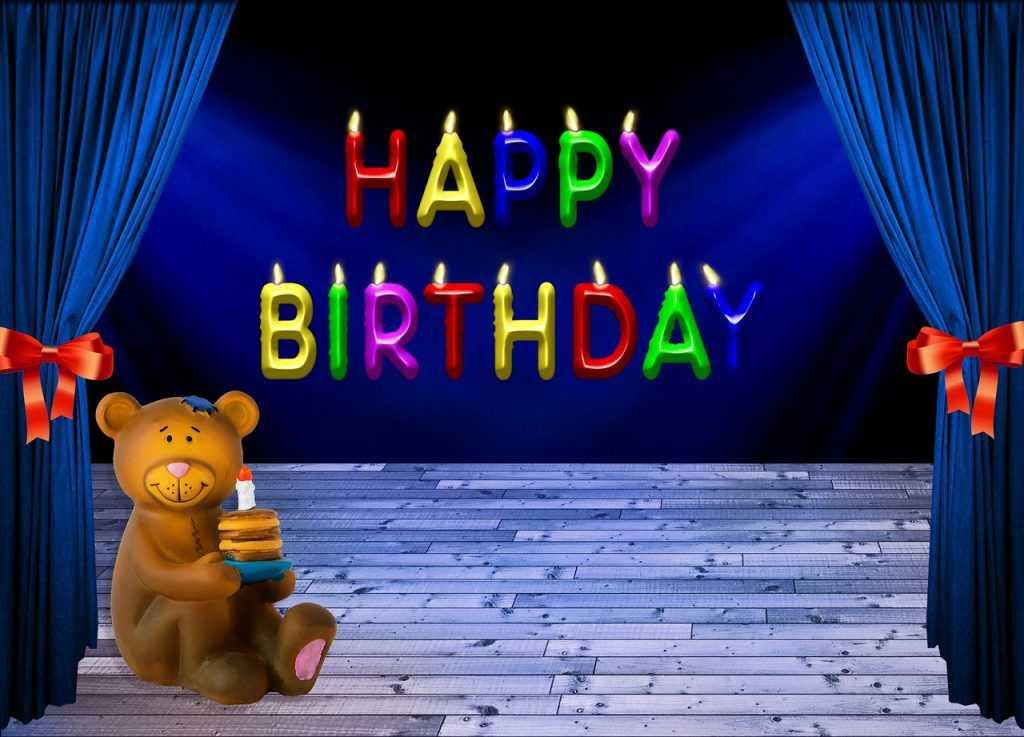 happy birthday darling wish you good luck