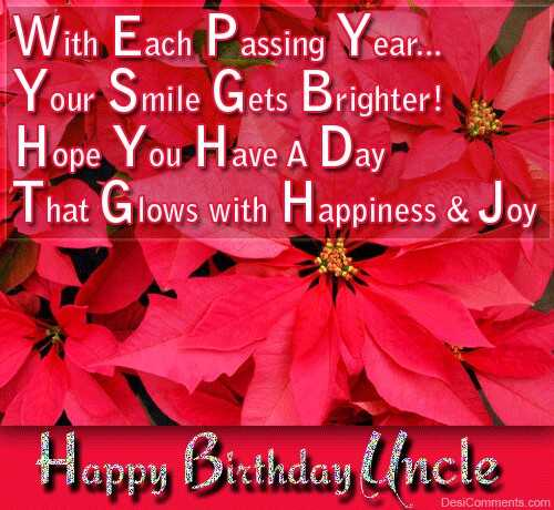 Happy Birthday Uncle Quotes