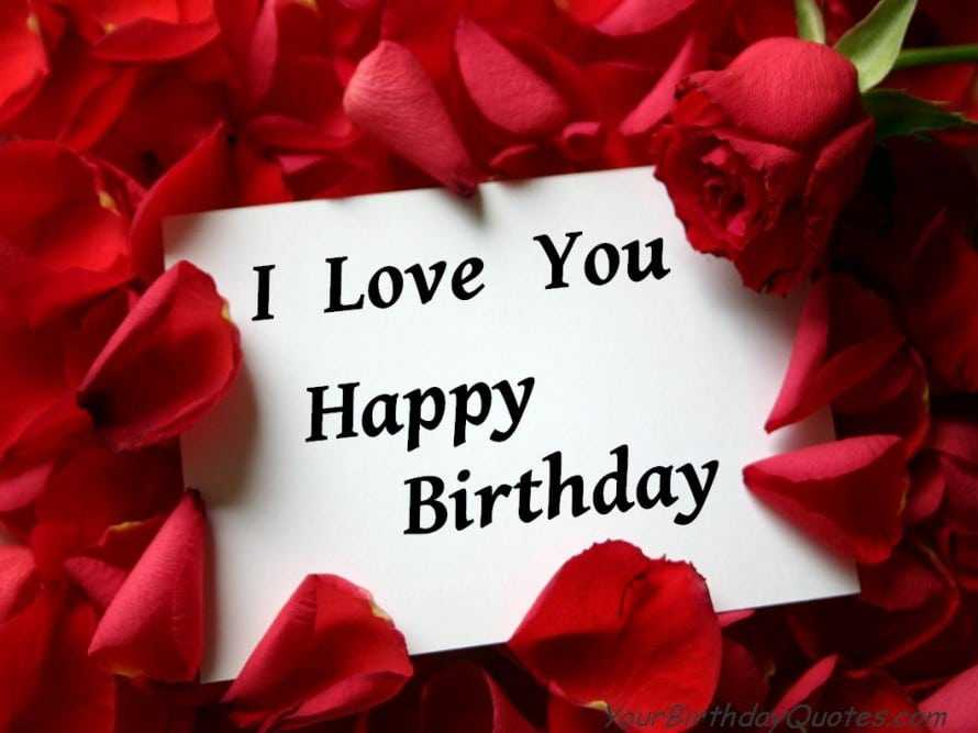 birthday wish sms for lover