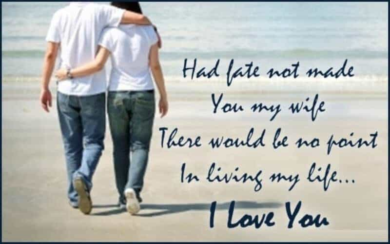 love messages for husband in english