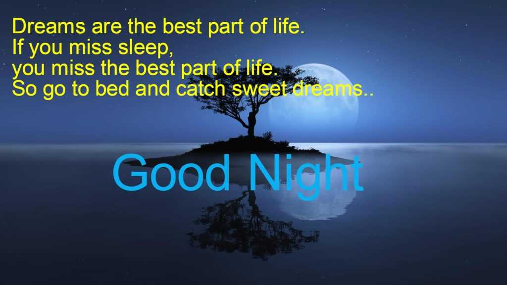 good night wishes for friends in english