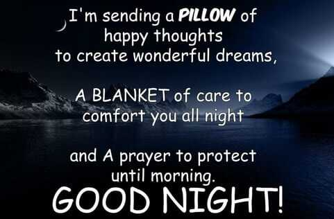 good night wishes for someone special