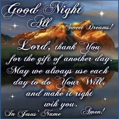 Good Night Blessings for Him