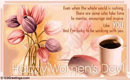Happy Women's Day Inspiring Quotes