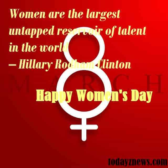 women's day inspirational greetings
