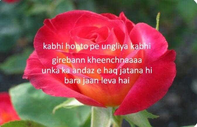 Emotional Deep Love Kiss Shayari for Girlfriend With Image in Hindi