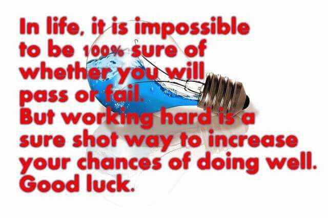 inspirational quotes for exam success